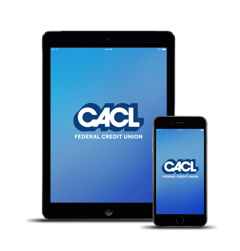 iphone and ipad with CACL logo