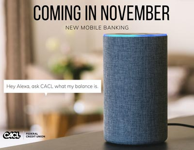 New mobile banking features coming in November